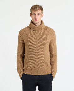 Camel Turtle Neck