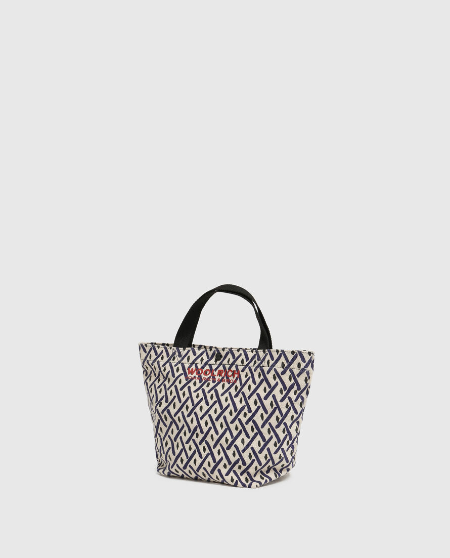 W'S Printed Canvas Small Bag