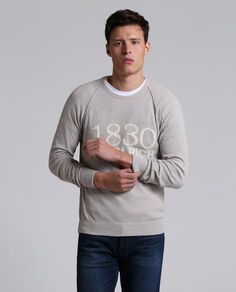 Curly Cotton Crew Neck