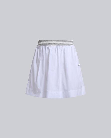G'S Printed Popeline Skirt