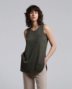W'S Silk Jersey Over Tank