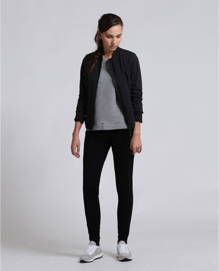 Soft Shell Bomber Look