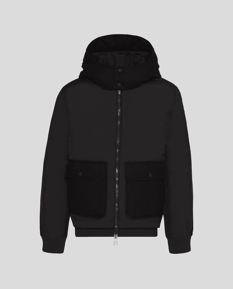 Wool Patch Bomber