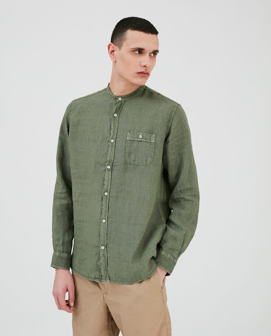 Linen Korean Shirt