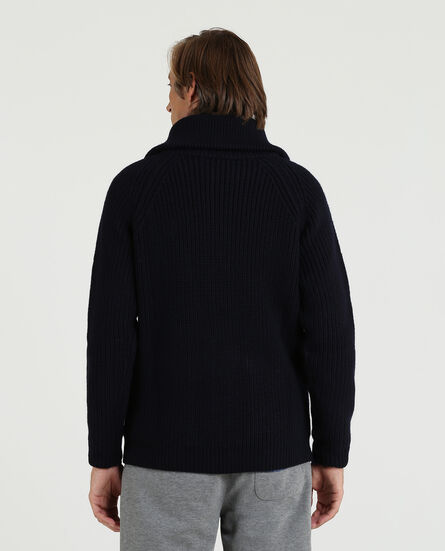 Carded Wool Cardigan