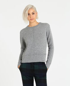W'S Double Knit Crew Neck
