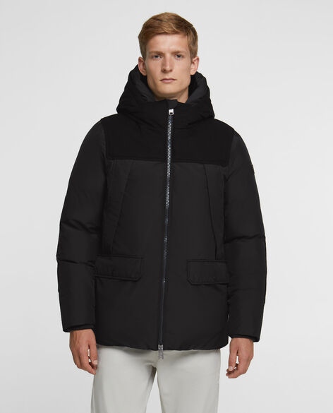 Wool Patch Parka