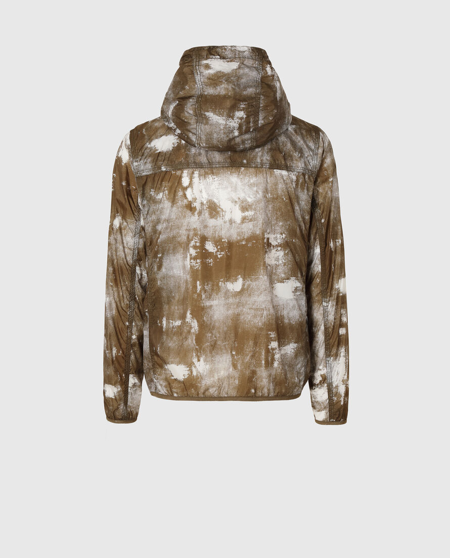 South Bay Printed Windbreaker