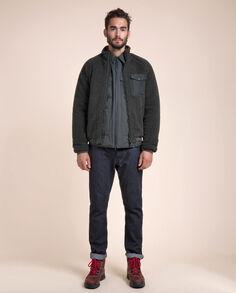Merino Wool Bomber Look