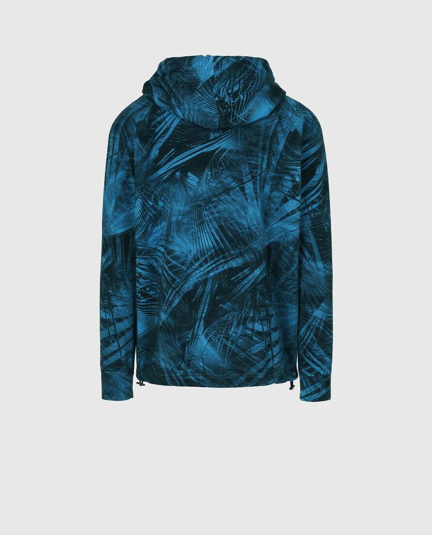 All Over Floreal Fz Hoodie