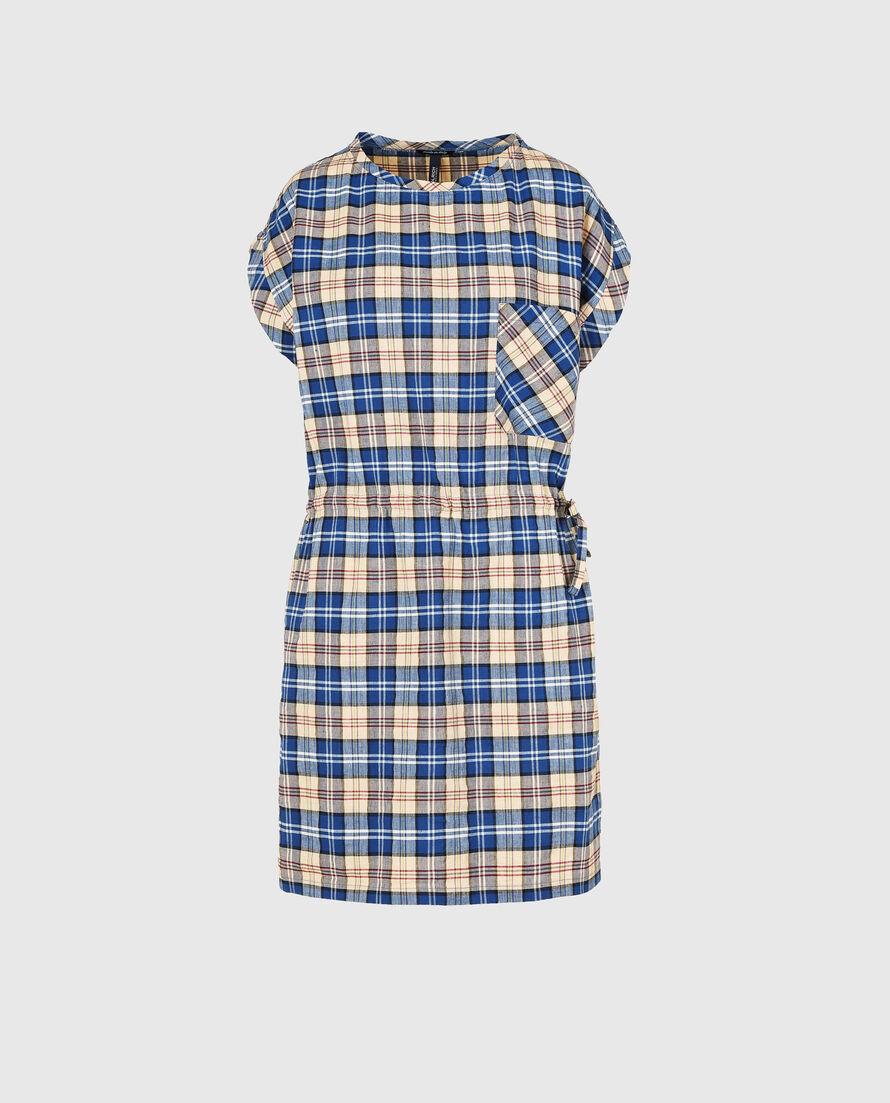 W'S Check Dress