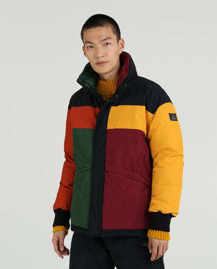 Color Block Down Jacket by Woolrich