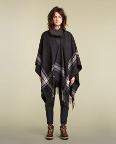 Blanket Cape Look