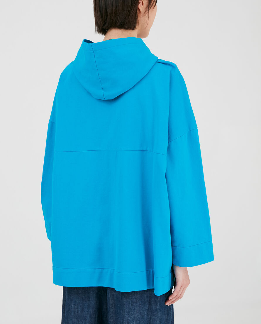 W'S Cotton Open Hoodie