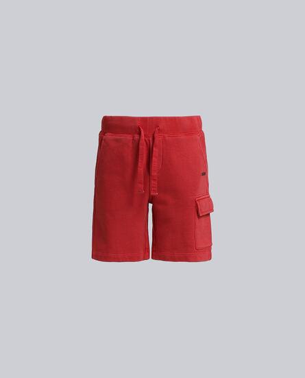 B'S Gd Fleece Cargo Shorts