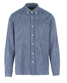 Indigo Flannel Shirt
