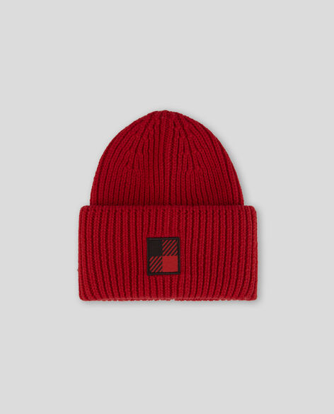 Winter Wool Logo Beanie Hat
