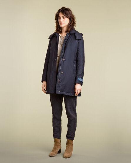 Silk Lp Coat Look