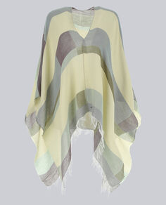 W'S Pattern Scarf Cape