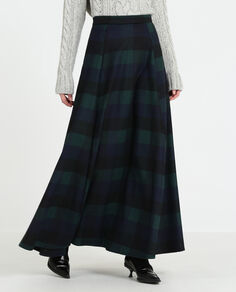 W'S Stretch Wool Long Skirt