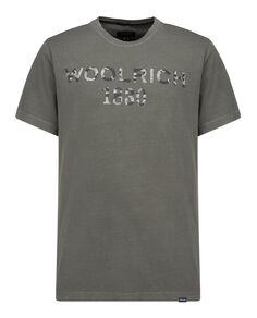 Woolrich 1830 Tee, FISHING GREEN, hi-res