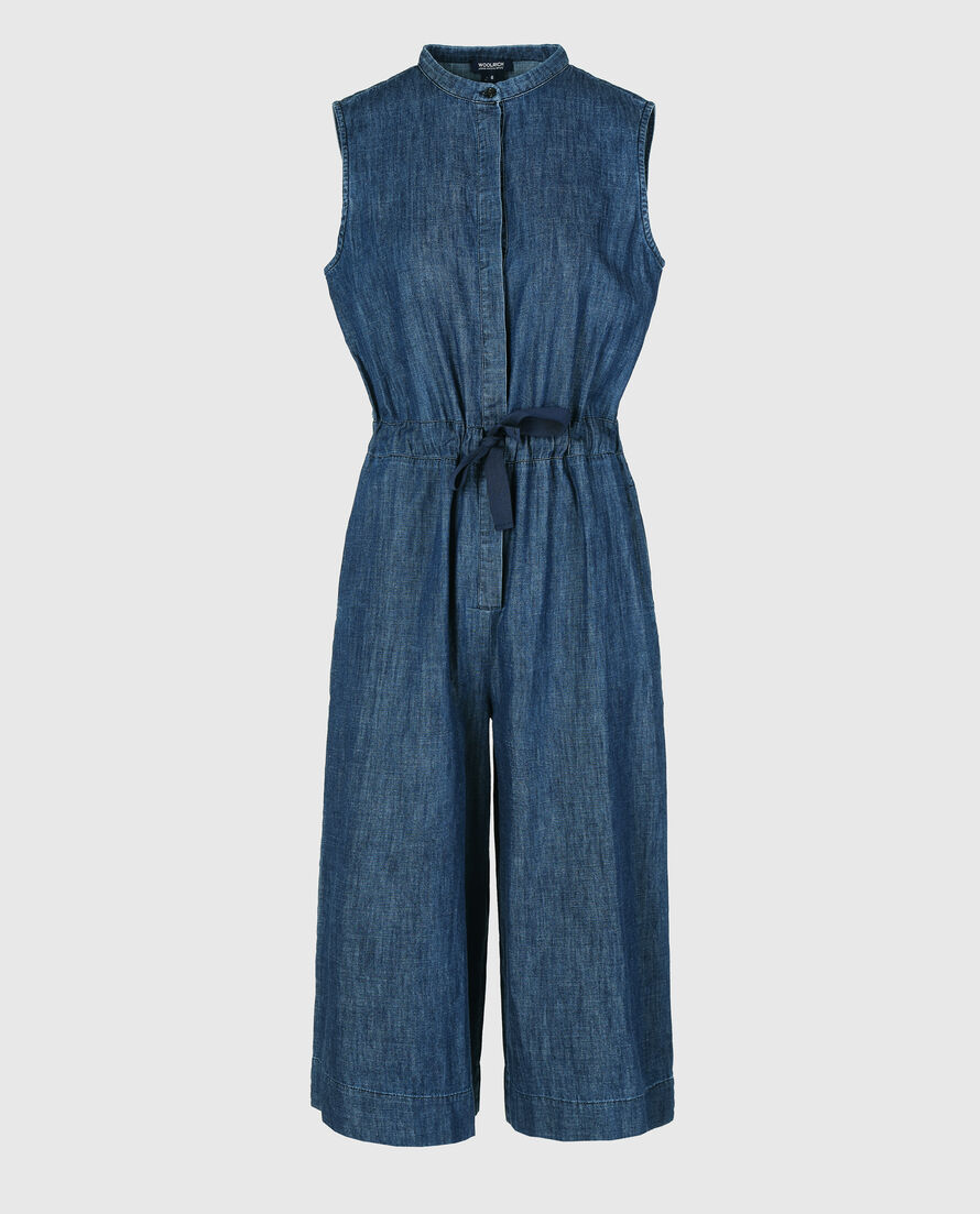 W'S Denim Chambray Jumpsuit