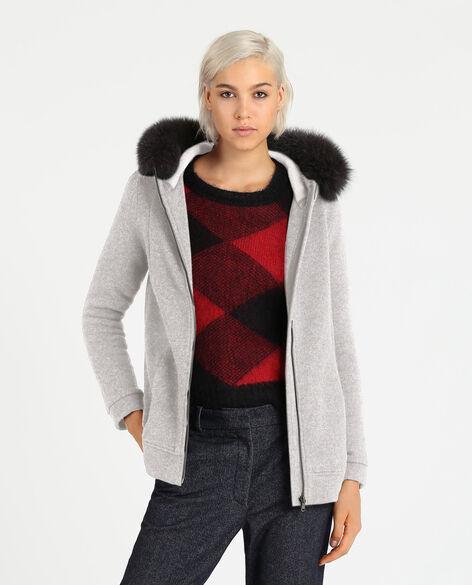 W'S Wool Cotton Hoodie