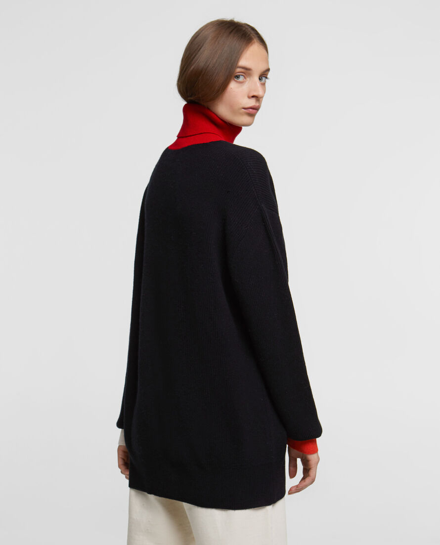 W'S Wool Cashmere Turtle Neck