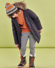 Boy's Luxury Arctic Parka detachable fur Look