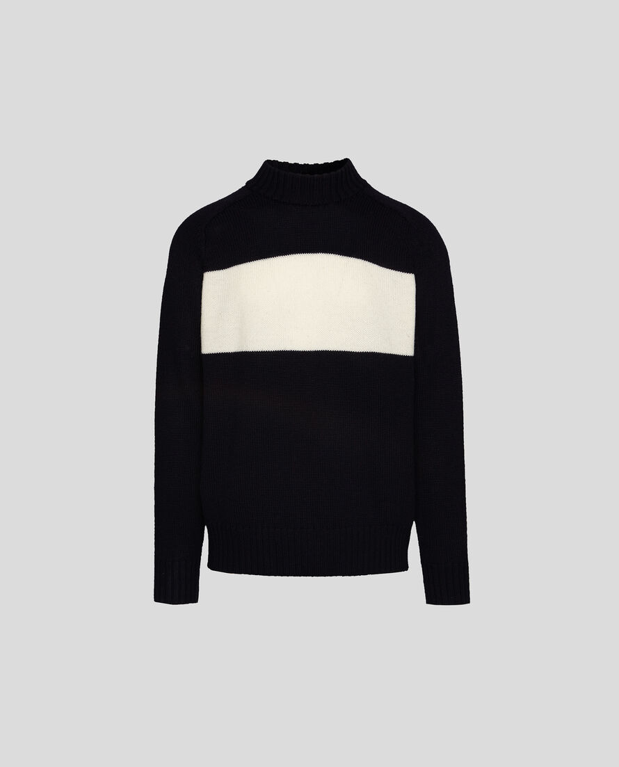 Merinos Stitch Turtle Neck