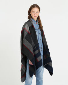W'S Soft Stripes Cape
